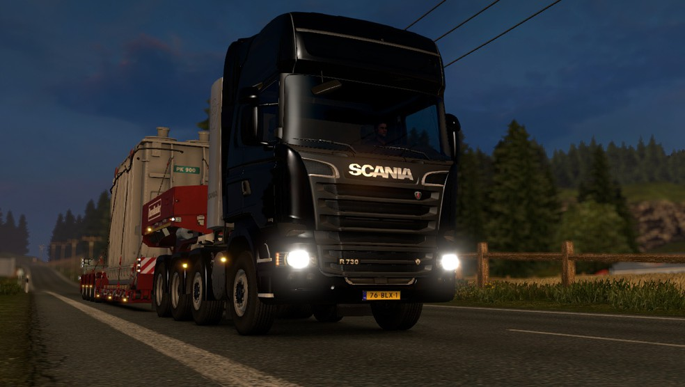 Euro Truck Simulator 2 on Linux